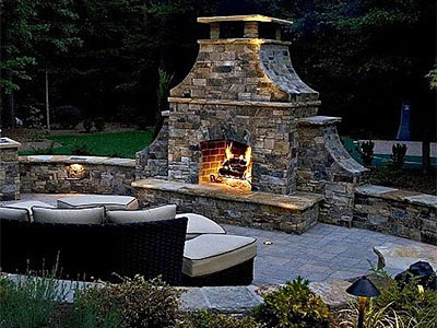 Outdoor Fireplace Louisville KY