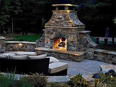 About Outdoor Fireplace | Louisville, Clarksville, St Matthews ...