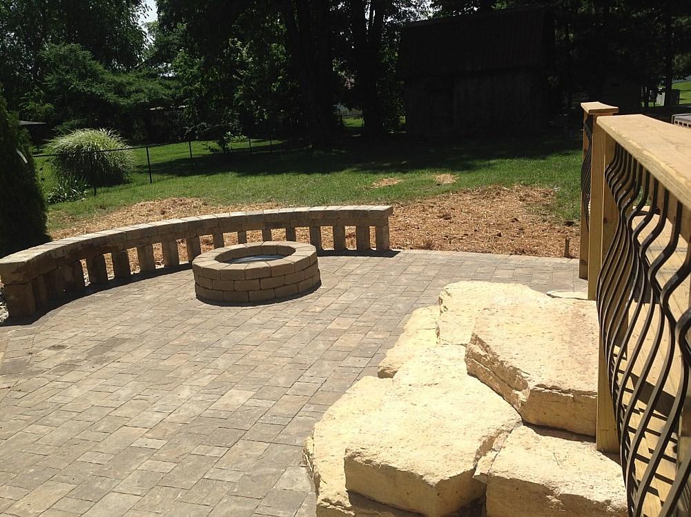 Concrete Patio Builders Louisville Ky Modern Patio Outdoor